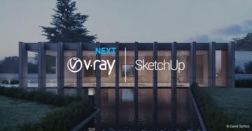Jak przyspieszyć rendering – najnowsza odsłona V-Ray dla SketchUp