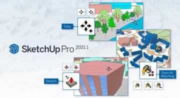 Nowe aktualizacje w SketchUp Pro 2021