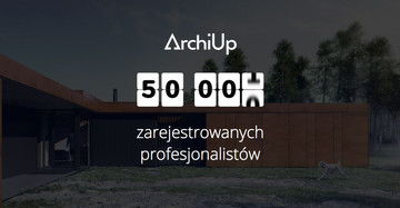 There is more than 50 000  ArchiUp users!
