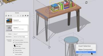 Aktualizacje przyjazne dla użytkownika w SketchUp Pro 2020 i LayOut